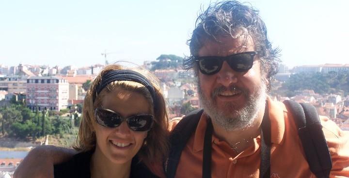 Βασίλης Χαλακατεβάκης κι η Δέσποινα Μαραγκουδάκη