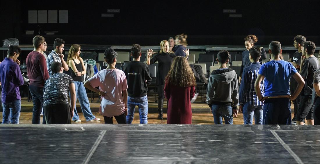 Η Εφηβική Σκηνή του Μικρού Εθνικού βρίσκει το σπίτι της στο Ισόγειο Rex