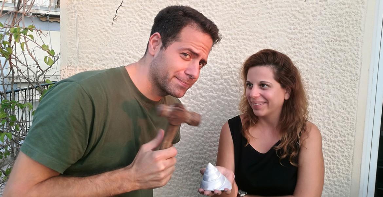 Αύγουστος Βεϊνόγλου και Μαρία Διαλεκτάκη @ Boem Radio