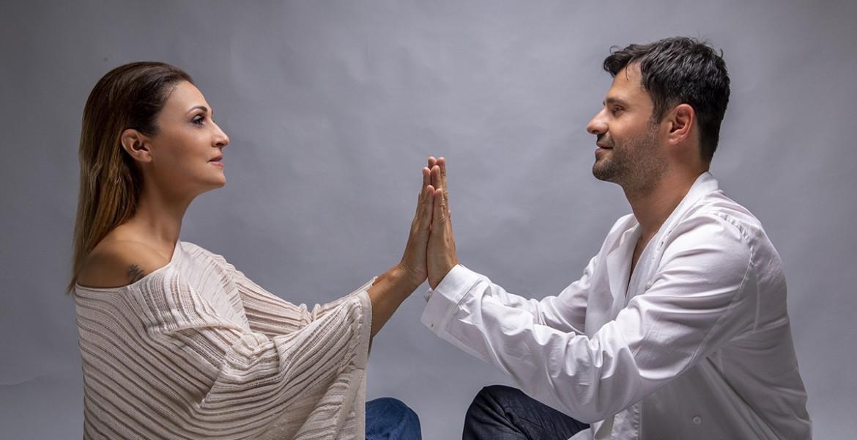 Η Ελένη Πέτα και ο Γιάννης Μαθές στη Σφίγγα