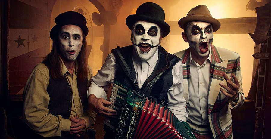 The Tiger Lillies live from Athens!