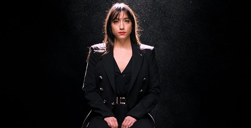 Ελευθερία με την Νικολέτα Κωνσταντάκη