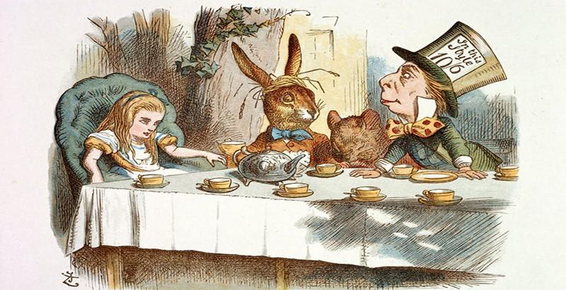 «Κάποιες φορές το ''πάντοτε'' διαρκεί μόλις ένα δευτερόλεπτο» - White Rabbit